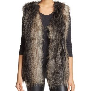 Via Spiga || Faux Fur Vest